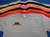 MM-ylw Pocket Tee
