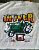 Oliver-55 Series Tractor-Pocket T-Shirt