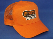 Economy Power King - Orange Mesh Hat