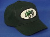 Oliver-550Tractor-green-youth-hat