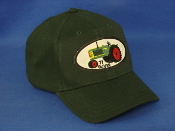 Oliver-77Tractor-green-youth-hat